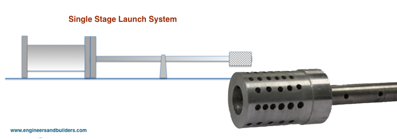 Single Stage Launch System by E&B